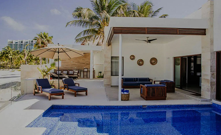 Villa rental in Cancun